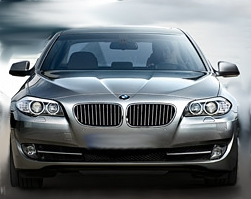 Parte delantera del BMW 520d EfficientDynamics