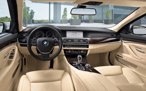 Interior BMW 520d EfficientDynamics