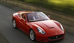 Ferrari California race