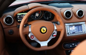 Interior Ferrari California