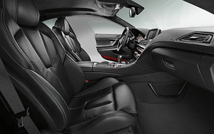 BMW M6 Coupe interior