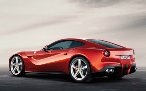 Ferrari F12berlinetta exterior