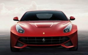 Ferrari F12berlinetta frontal