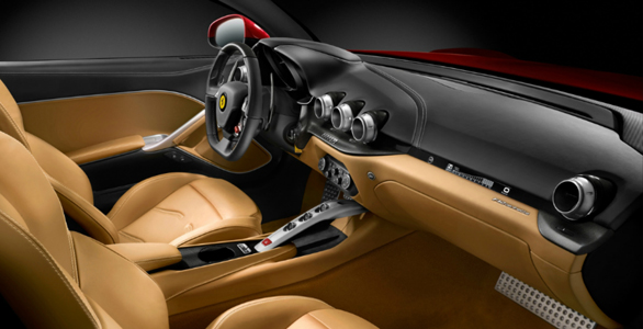 Ferrari F12berlinetta interior