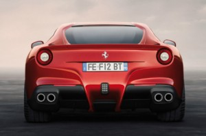Ferrari F12berlinetta trasera