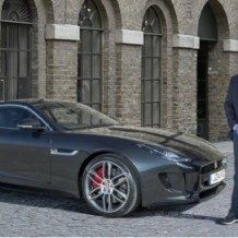 Jose Mourinho y su Jaguar F-Type R Coupe